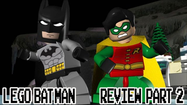 LEGO Batman Game (Wii) Review Part 2