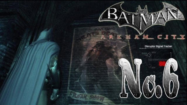 BATMAN ARKHAM CITY - Old Gotham Subway