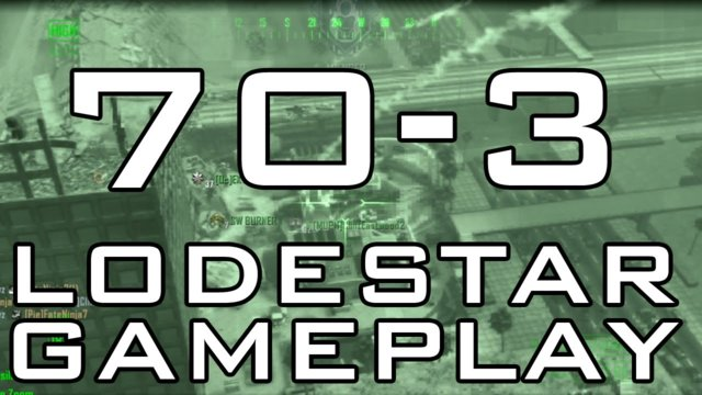Black Ops 2: 70-3 Domination with Lodestar Scorestreak (Live Commnetary)