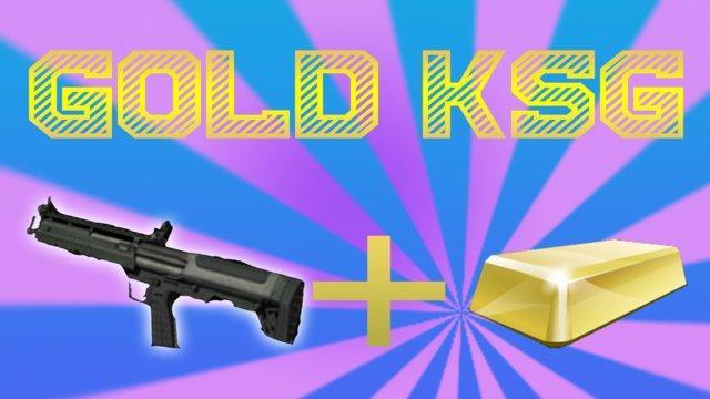GOLD KSG MW3 Gameplay!!
