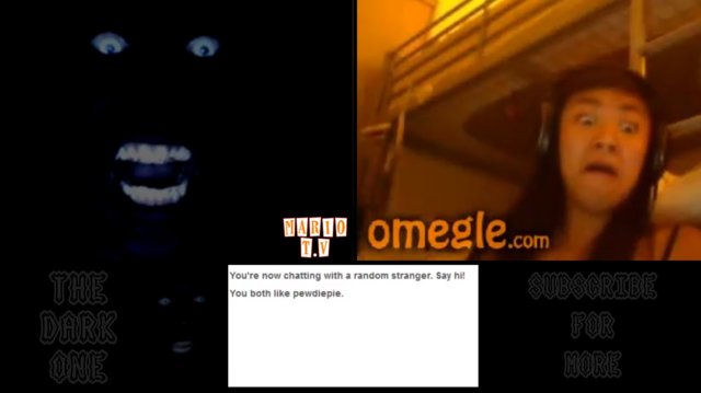 The Dark One | WHY CAN'T WE BE FRIENDS? - Omegle