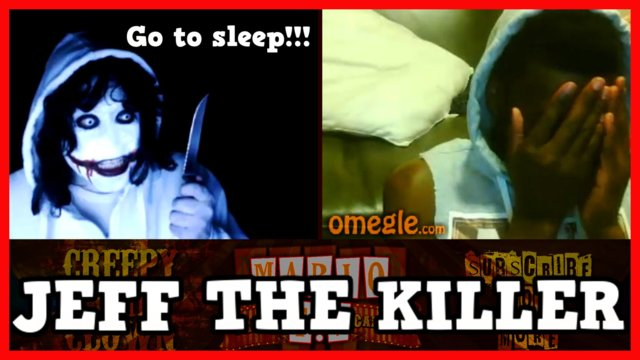 Jeff The Killer | GO TO SLEEP - Omegle