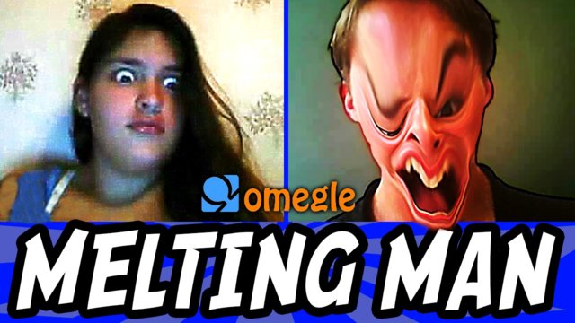 SCARY MELTING MAN on Omegle (Omegle Funny Moments)