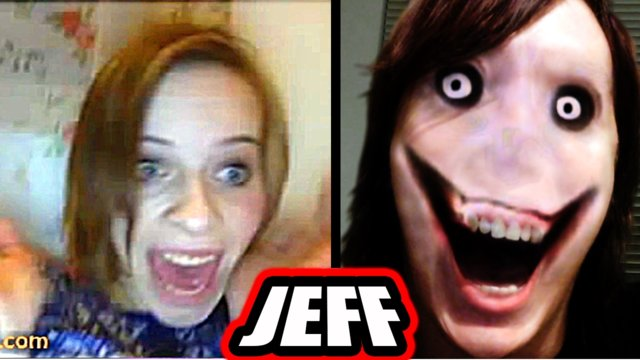 Jeff the Killer : Top 10 Omegle Scare Pranks!