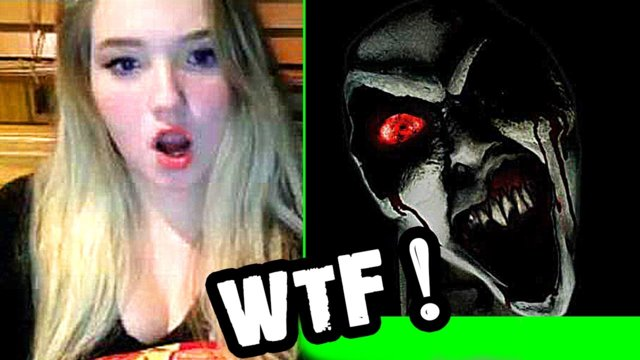 Scary Prank on Omegle - Ghost Scare * The End?