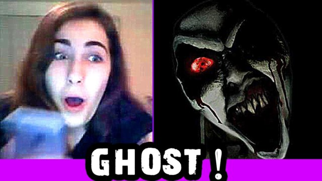 Ghost! Scary Prank on Omegle!