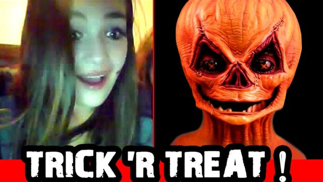 Trick Or Treat! Scary Prank on Omegle