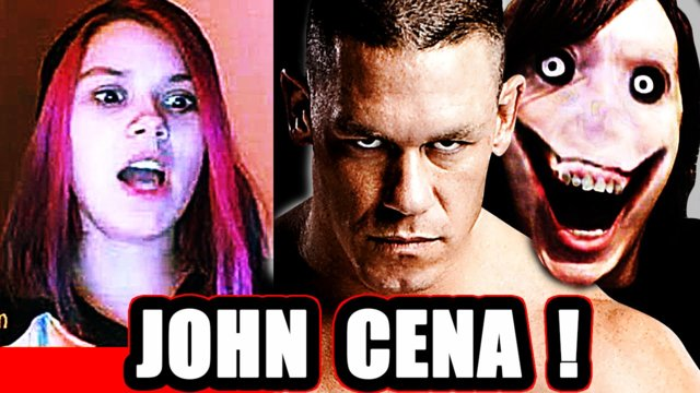 John Cena AND Jeff the Killer - Scary Prank on Omegle