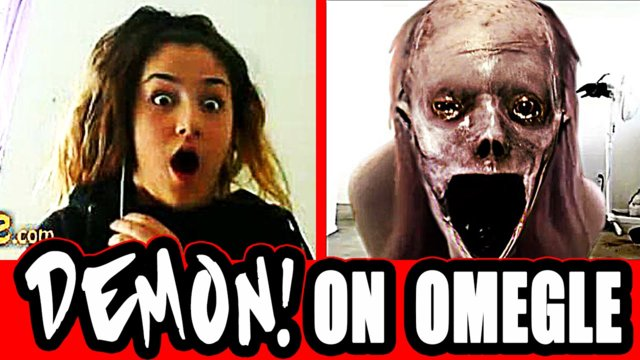 Demon Girl Scares Video Chatters - Scary Prank on Omegle