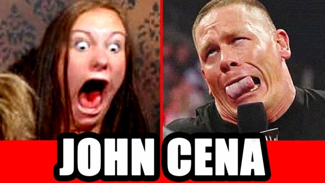 John Cena Prank on Video Chat!