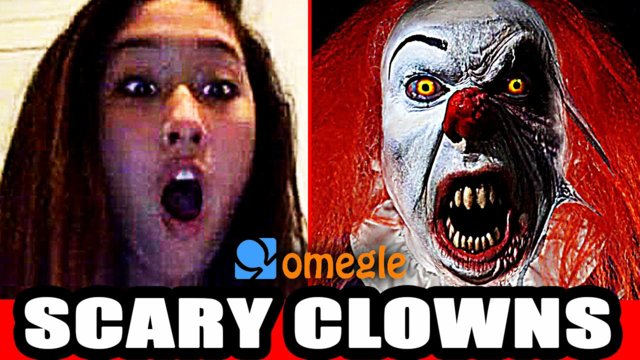 Scary Clowns Prank on Video Chat! with Pennywise & Creepy
