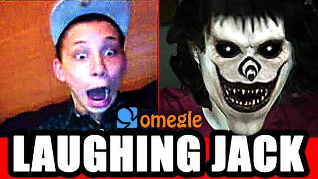 Laughing Jack Scares Omegle Video Chatters!