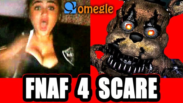 Five Nights at Freddy's 4 Scary Prank on Omegle