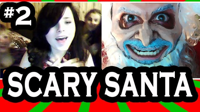 Scary Santa goes on Omegle! pt. 2