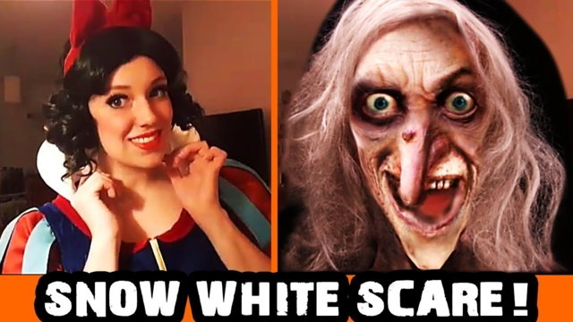 SNOW WHITE / THE WITCH - OMEGLE SCARY PRANK