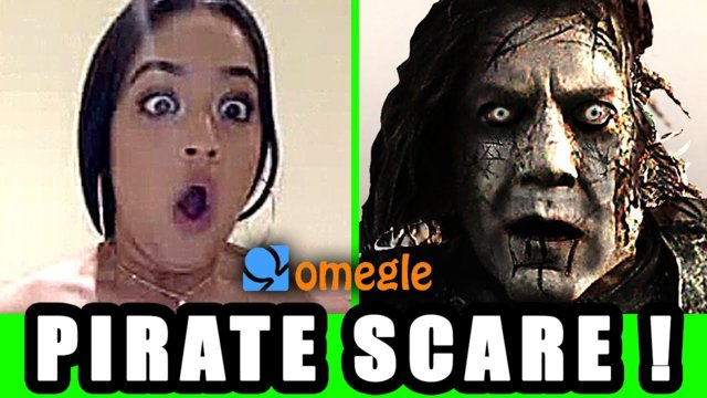 OMEGLE SCARE PRANK - Pirates of the Caribbean : CAPTAIN SALAZAR