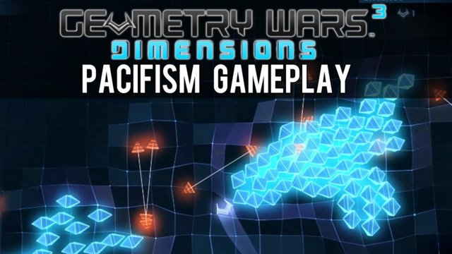 Geometry Wars 3: Dimensions Pacifism Gameplay - Can You Beat The Score?