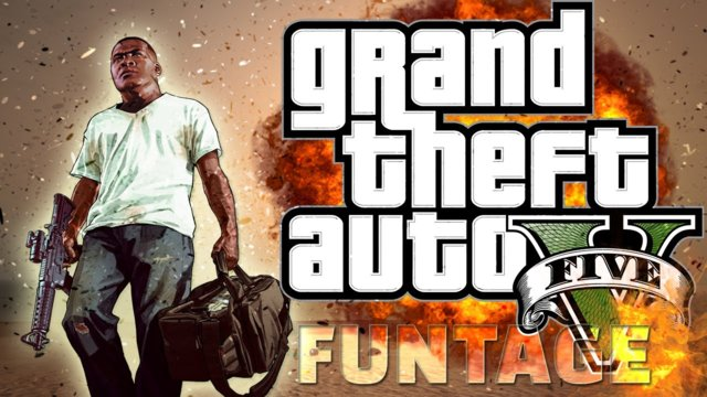 GTA 5 PS4 - Franklin Funtage! (GTA 5 Online PS4 Funny Moments)