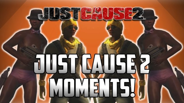 "When You Toss The Group The Aux Cord! : ""Just Cause 2 Funny Moments!"""