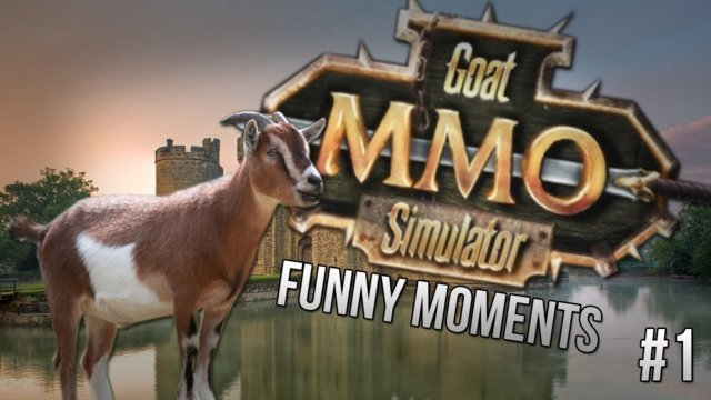 I AM DEADMOU5! | Goat MMO Simulator Funny Moments (Funtage/Funny Moments)