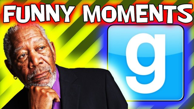 MORGAN FREEMAN IN GMOD (Gmod Prop Hunt Funny Moments)