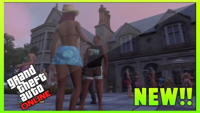 GTA 5 Online: NEW Leaked Mansion & Apartment DLC - Screenshots! (GTA 5 Online Gameplay)