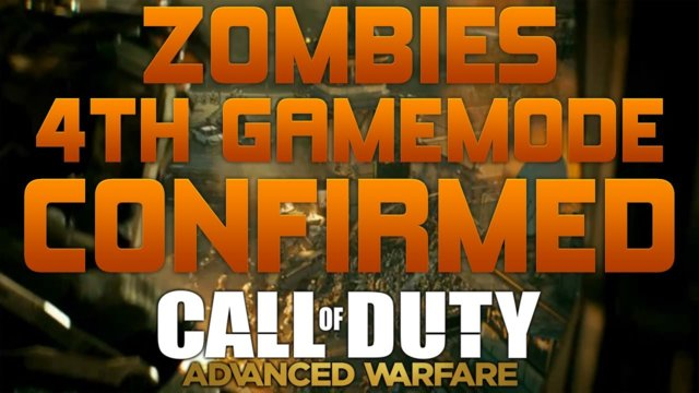 "Advanced Warfare - ""EXO ZOMBIES MODE CONFIRMED"" - ""NEW 4TH GAME MODE"""
