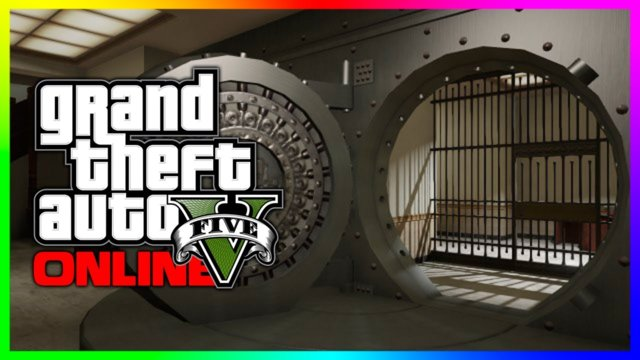 GTA 5 ONLINE : Secret Bank Vault Glitch - Heist Room! GTA 5 Next Gen Heists!