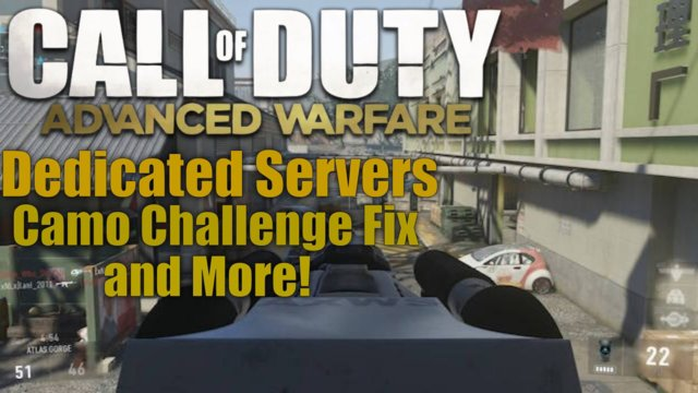 "Call of Duty Advanced Warfare PATCH! : ""Advanced Warfare Patch Notes"" - Dedicated Servers & More!"