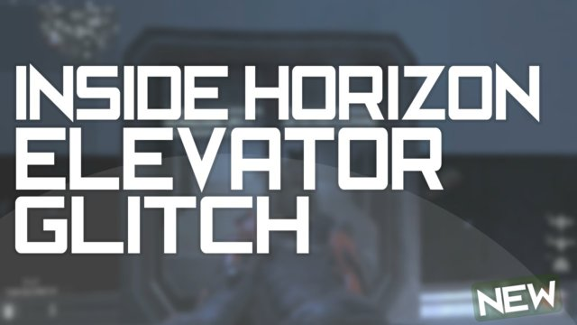 "Call Of Duty Advanced Warfare: Inside Elevator ""HORIZON"" Glitch!"