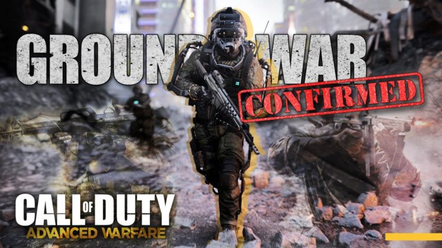 Call of Duty Advanced Warfare GROUND WAR CONFIRMED? : Next-Gen Supporting More Players? AW Leaks!