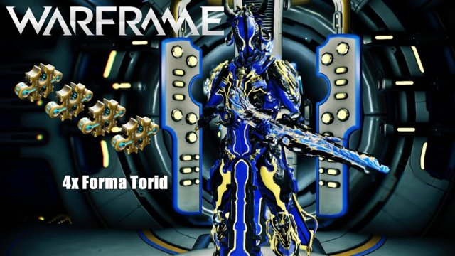 Warframe: Torid Setup - 4x Forma - with/without Riven Mod (U21.0.9)