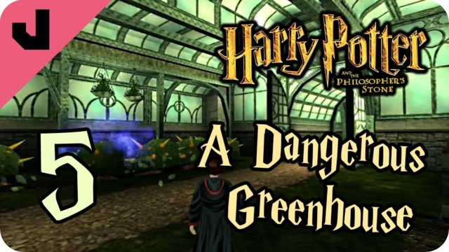 Harry-Eating Plants (Plants Are Dangerous Here) (Philosopher's Stone #5)