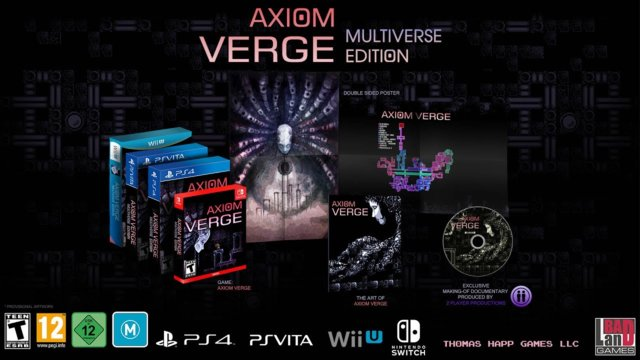 Axiom Verge: Multiverse Edition. Nintendo Switch Announcement Teaser