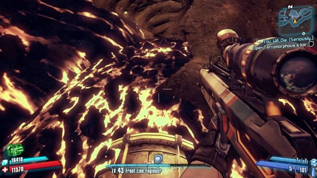 Borderlands 2 - Challenge Guide - Vault Hunter vs. The Volcano