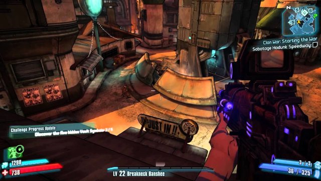Borderlands 2 - Challenge Guide - Cult of the Vault (Sanctuary)