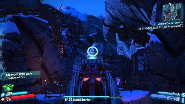 Borderlands 2 - Challenge Guide - Totems of Fire