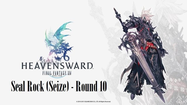 Final Fantasy XIV: Heavensward - Seal Rock (Seize) Round 10 (DRK)
