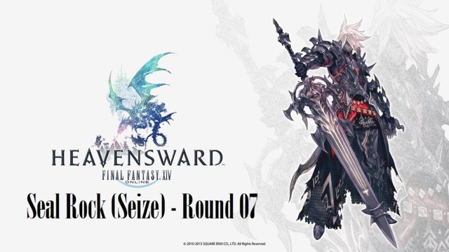 Final Fantasy XIV: Heavensward - Seal Rock (Seize) Round 07 (DRK)