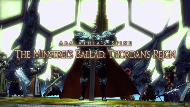 Final Fantasy XIV: Stormblood - Thordan Extreme Unsync (WAR)