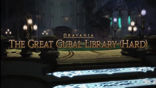 Final Fantasy XIV: Heavensward - The Great Gubal Library Hard (DRK)