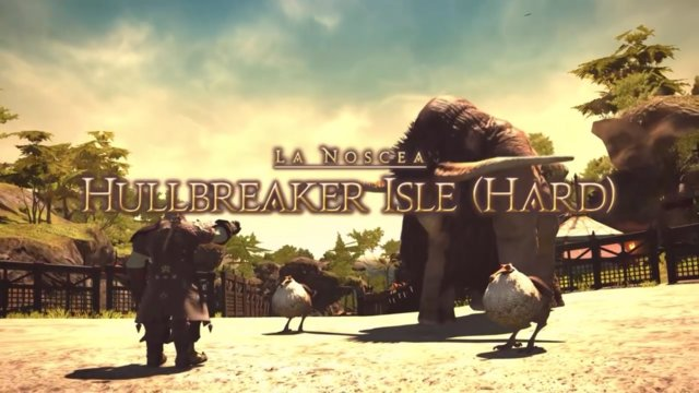 Final Fantasy XIV: Heavensward - Hullbreaker Isle Hard (DRK)