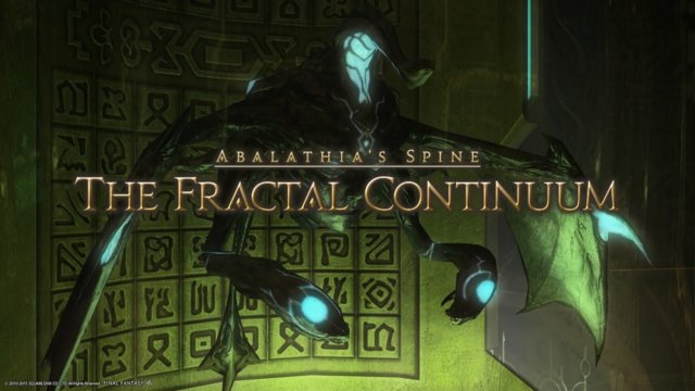 Final Fantasy XIV: Heavensward - The Fractal Continuum (DRK)