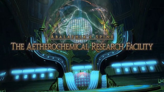 Final Fantasy XIV: Heavensward - The Aetherochemical Research Facility (DRK)