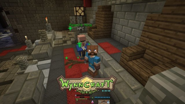 "Let's Play Wynncraft Episode 22 ""Fighting Santa and Gathering Slime"""