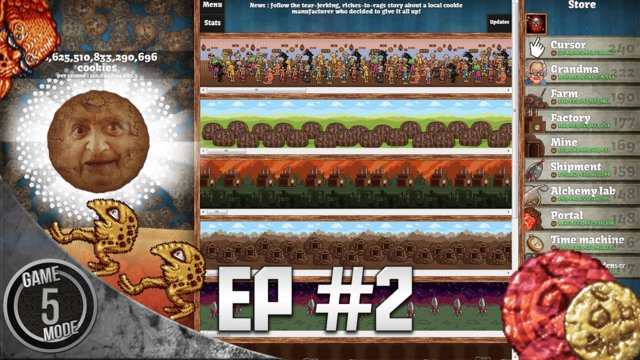 Cookie Clicker - Part 2 - Cookie Clicker Portal Focus
