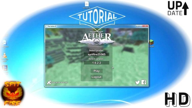 How To Install Aether 2 1.6.2 - The Aether Launcher - How To Download Aether 2 Mod 1.6.2