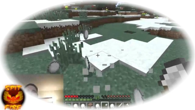 Aether Mod Minecraft With SpitFire - Digging snow golems - AetherMod Minecraft Gameplay