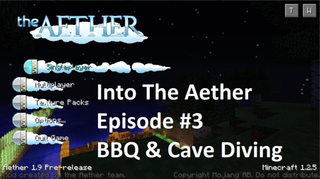 Into The Aether With SpitFire - BBQ and Cave Diving
