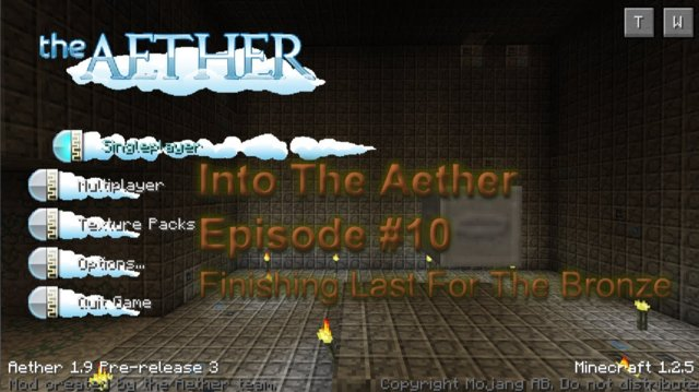 Into The Aether With SpitFire - Finishing Last For The Bronze